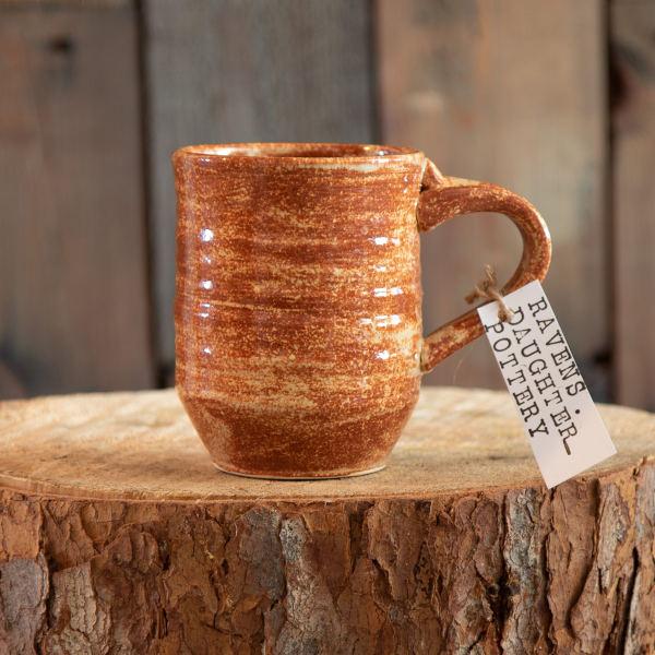 Hand Crafted Pottery Mug - Rustic