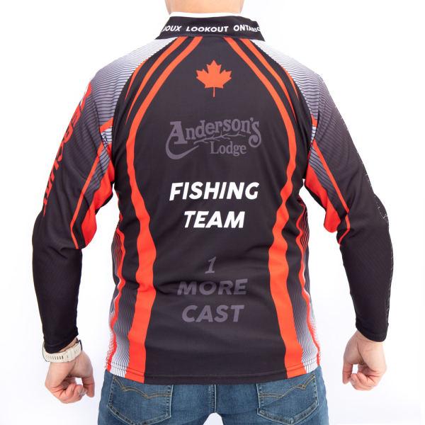 Fishing Jersey Back