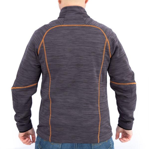 Orange Carbon Jacket Back