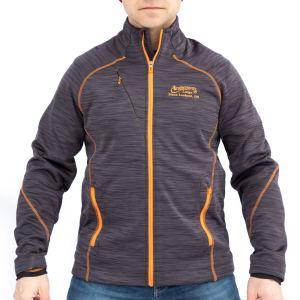 Orange Carbon Jacket Front